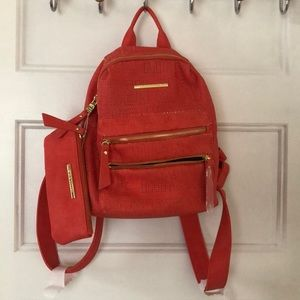 Steve Madden mini backpack and pouch